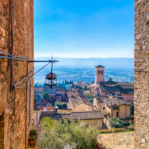 Ride the Beauty Assisi Panorama