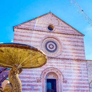 Ride the Beauty Assisi Santa Chiara