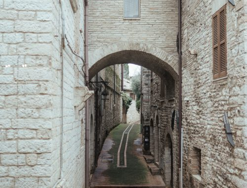 Alloggio grande al centro di Assisi